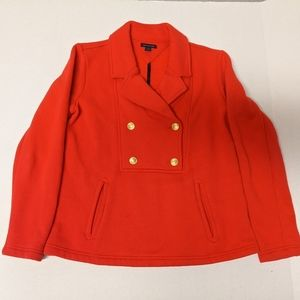 Tommy Hilfiger women's Red button up